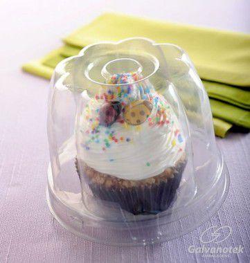 G685 Embalagem Cup Cake c/10 unids
