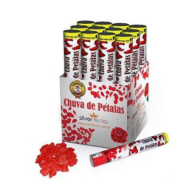 Lança Confete Chuva de Petalas Vermelhas unid