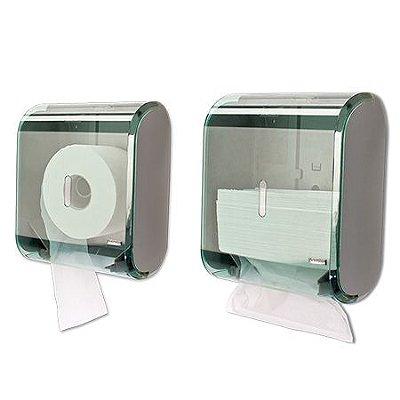 Dispenser Multiplo Toalheiro/Higienico Rolao Premisse Verde  Gde unid