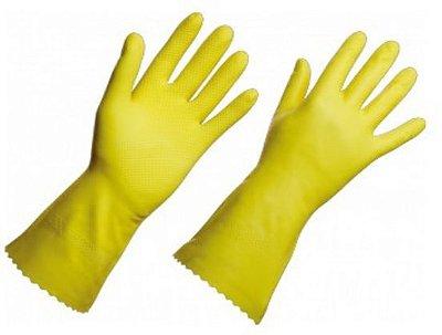 Luva Pvc G Superpro amarela par