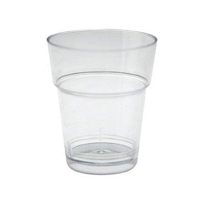 Copo Acrilico 10ml Cristal Plastilania 50unids