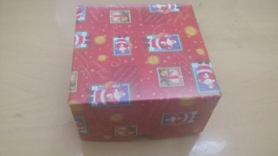 Cx Papelão Amor de Natal 24cmx5cmx20cm unid