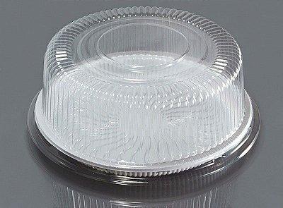 Embalagem Bolo Medio (56cm Pratic) c/ tampa 50 unids (promoção)