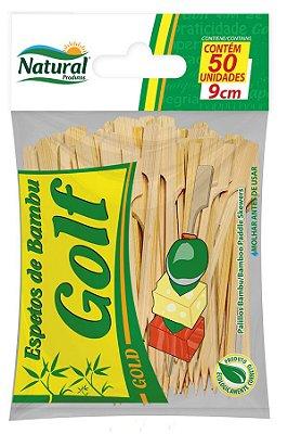 Espeto Golf 9cm Bambu 50 unids