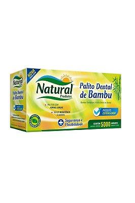 Palito Dental Bambu Natural 5000 unids
