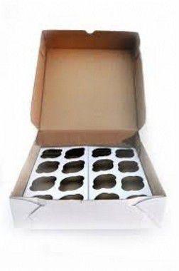 Caixa para Cup Cakes Mini (Transportar) 25 unids