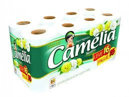 Papel Higiênico Camélia fl simples 30mts 16rls
