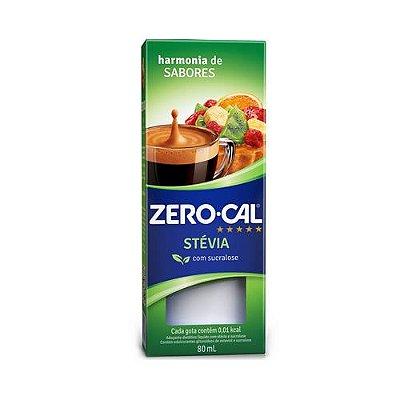 Adoçante Liq Zero Cal Stevia 80 ml