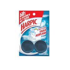 Bloco Sanitario Harpic Cx Aclopada Marine c/2 unids