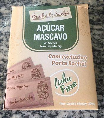 Açúcar Sachê Mascavo Fine 40 saches
