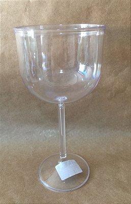 Taça Acrilica 500ml Gin Cristal Duravel unid
