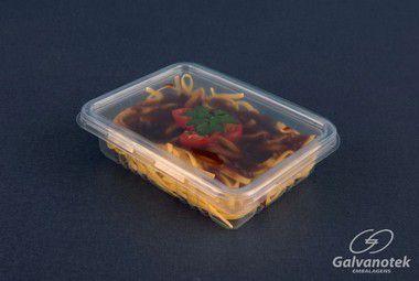 Embalagem Marmita 400ml Freezer/micro (G303) c/tampa 100 unids