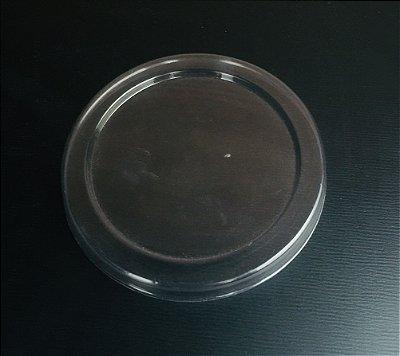 Tampa Pote Papel 100ml Plastica (PET) 50 unids