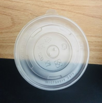 Tampa Pote Papel 480ml Plastica (PP) 50 unids