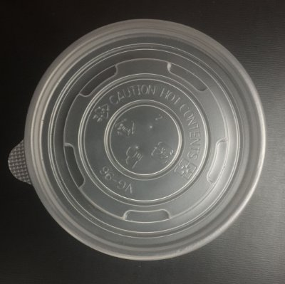 Tampa Plastica PP Pote Papel 180ml 20x50 unids
