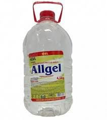 Álcool Gel 70% AllGel Anti Séptico 4,5kgs