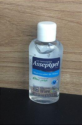 Alcool Gel 70% Anti Septico com Aloe Vera 52grs (bolso/bolsa)