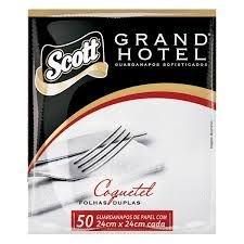 Guardanapo 24x24 Grand Hotel Fl Dupla 90x50unids