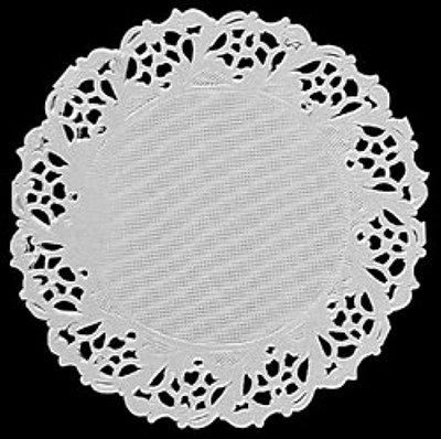 Toalha Rendada Papel Mago (Doilies) mod 91 (09cm) 24 unids