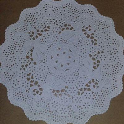 Toalha Rendada Papel Mago (Doilies) mod 221 (21 cm) 100 unids