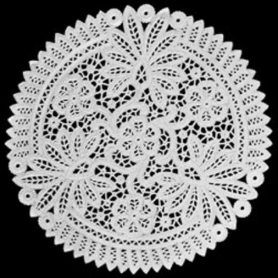 Toalha Rendada Papel Mago (Doilies) mod 330 (33 cm) 100 unids