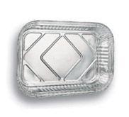 Marmitex aluminio 1500ml Wyda (D8) tampa papelao 100 unids