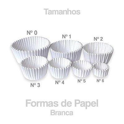 Forminha Papel nº04 branca c/200 unid.