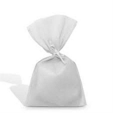 Saco Tnt 15x30 Branco c/cordao unid (consultar disponibilidade na loja)