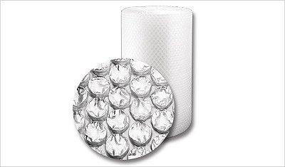 Bobina Plastico Bolhão 1,30x50mts (106 MICRAS)