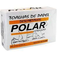 Toalha Interfolha Branca Polar Luxo 2d (23x21) 1000 fls