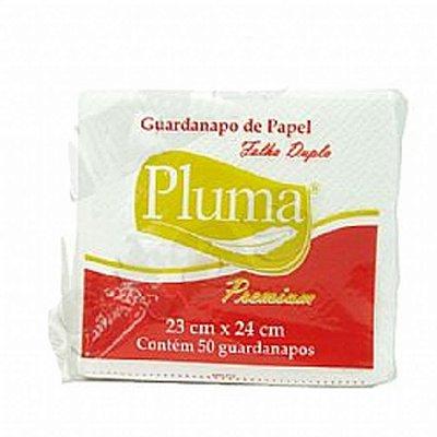 Guardanapo 31x33 Pluma Fl Dupla 50 unids