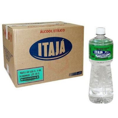 Álcool Liquido 70% itaja 12x1lt