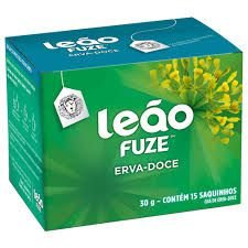 Chá Leão Erva Doce c/ 15 (envelopado)