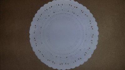 Toalha Rendada Papel Mago (Doilies) mod 181 (17cm) 100 unids