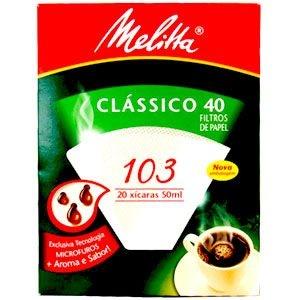 Filtro de papel Melitta 103 c/30