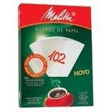 Filtro de papel Melitta 102 c/30