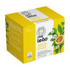 Chá Leão  Camomila, cidreira e maracuja c/15 (envelopado)
