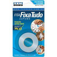 Fita Dupla face 12x1.5mts (espuma) Fixa Forte unid