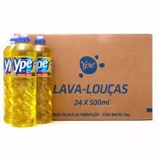 Detergente 24x500ml Ypê Neutro