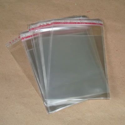 Saco Adesivados 15,5x20 c/100 unids (05cm aba)