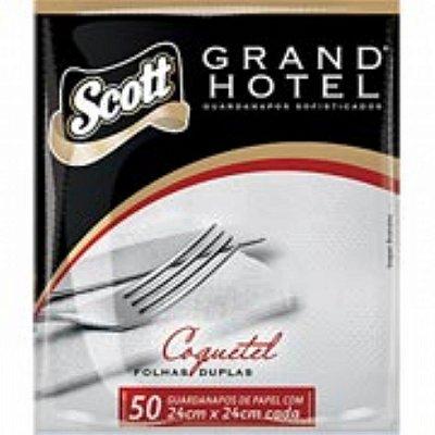 Guardanapo 24x24 Grand Hotel Fl Dupla 50 unids
