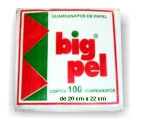 Guardanapo 20x22 Big Pel Fl Simples 50x100 unids