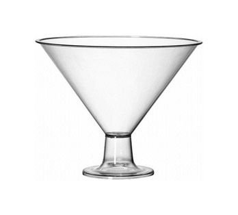 Taça Acrilica Martine Pequena unid (consultar disponibilidade antes da compra)