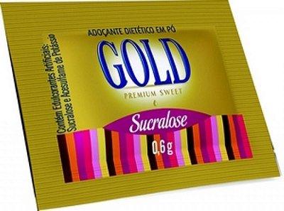 Adoçante Sachê Gold Sucralose 1000 unids