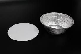 Marmitex Aluminio nº08 850ML (manual) tampa papelao Wyda 100 unids
