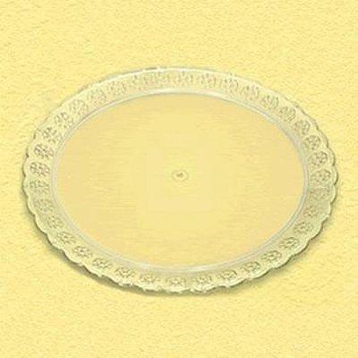 Bandeja Acrilica Redonda (prato) 320mm cristal unid
