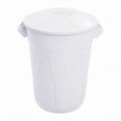 cesto 40lts branco redondo c/tmp