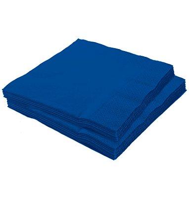 Guardanapo 25x25 Azul royal Fl Dupla 20 unids (consultar a disponibilidades na loja)