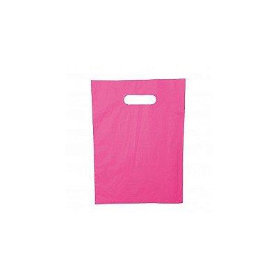 Sacola Bolsa Sorriso Pink 30x40 1kg