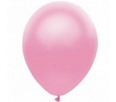 Balão nº7 Rosa Happy Day 50 unids (consultar disponibilidade antes da compra)